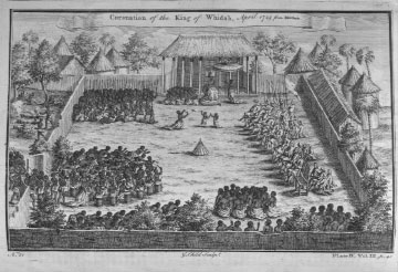 """Coronation of the King of Whydah, April 1725"""