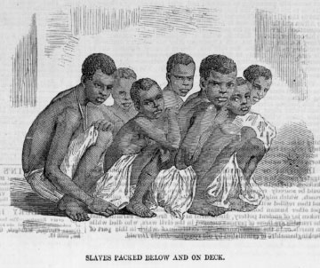 <i>Slaves Packed Below and On Deck</i>