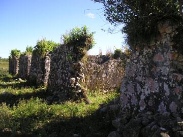 L'Habitation Caféière de Dion slave quarters