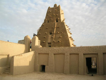 The Sankore Mosque in Timbuktu, Mali