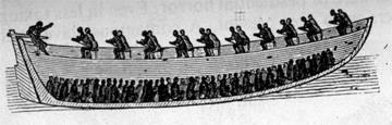 """Section of Embarkation Canoe"""