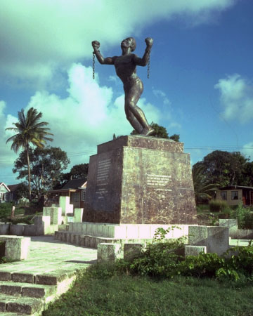 Emancipation monument, Barbados