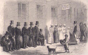 """Slaves for Sale: A Scene in New Orleans"""