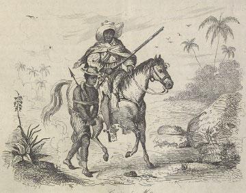 Capture of a runaway slave