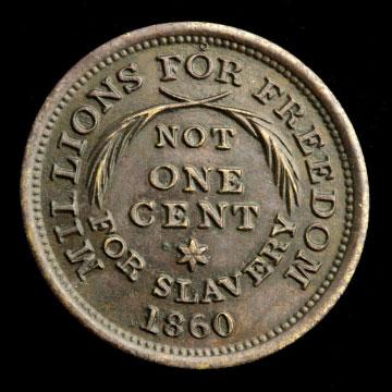 Lincoln campaign token