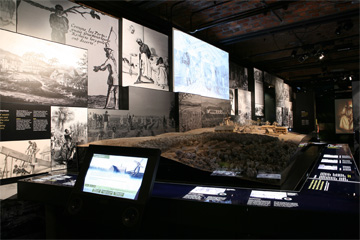 Plantation model and exhibit
