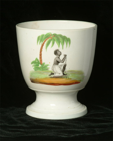 Abolition campaign sugar bowl