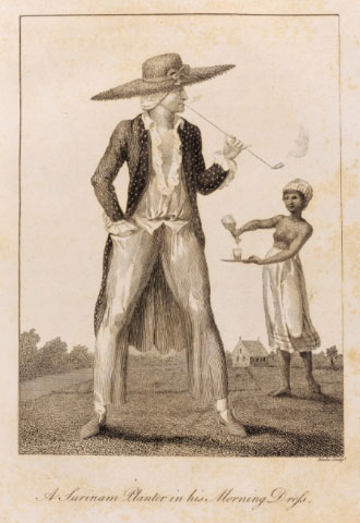 <i>A Surinam Planter in his Morning Dress</i>