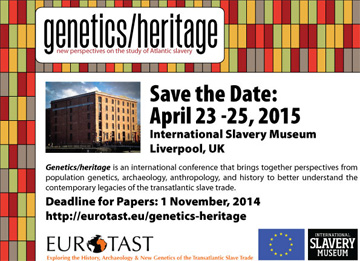 Genetics/Heritage conference announcement
