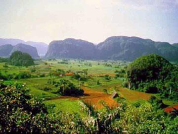 View of the Viñales Valley, Cuba