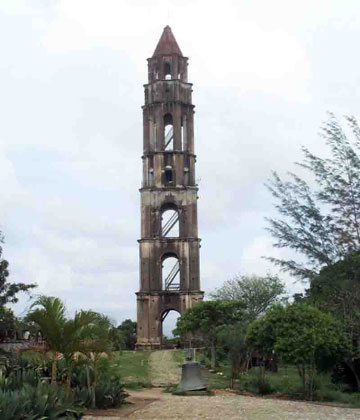 Tower at Iznaga