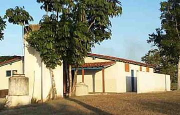 Ceremonial site for commemorative activities at La Demajagua Sugar Factory
