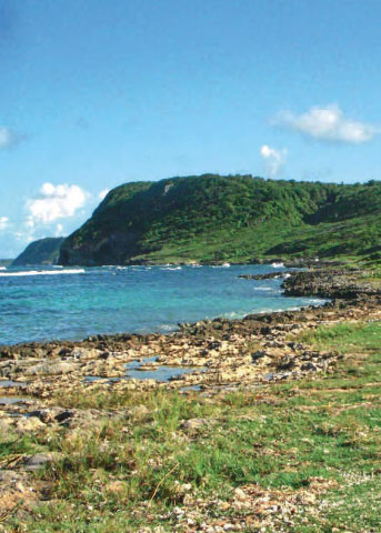 Slave burial ground of Anse Sainte-Marguerite