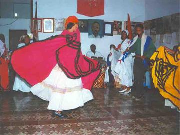 Dance in La Caridad de Oriente, Santiago de Cuba