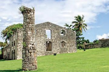 Sugar refining complex, Murat Plantation, Guadeloupe