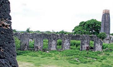 Ruins of the sugar complex