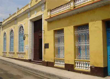 Front of the Historical Museum of Guanabacoa