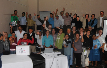 Community Assembly-Site of Memory of Slavery, Zaña, Peru