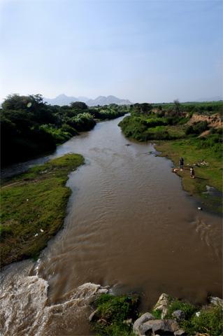 Zaña River, Zaña, Peru