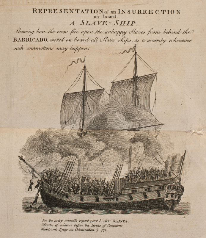 "slave ship mutinies slavery and remembrance ""representation of an insurrection on board a slave ship"""